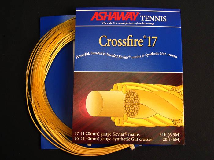 Струна теннисная Ashaway Crossfire 17