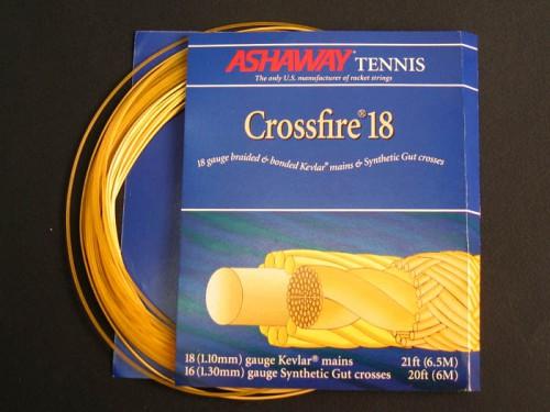 Струна теннисная Ashaway Crossfire 18