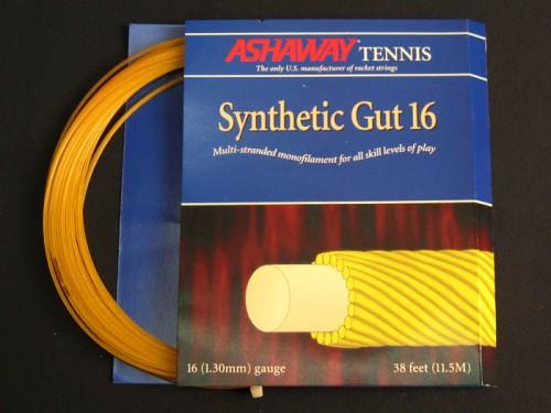 Струна теннисная Ashaway Synthetic Gut 16