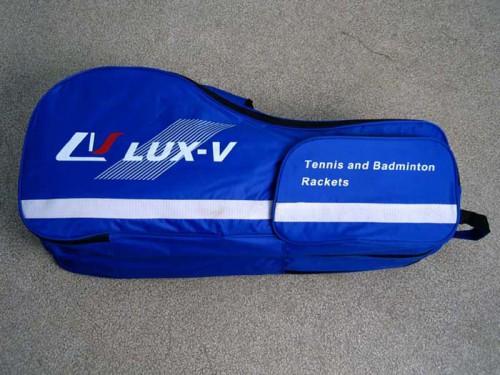 Чехол Lux-V синий для бадминтона и сквоша