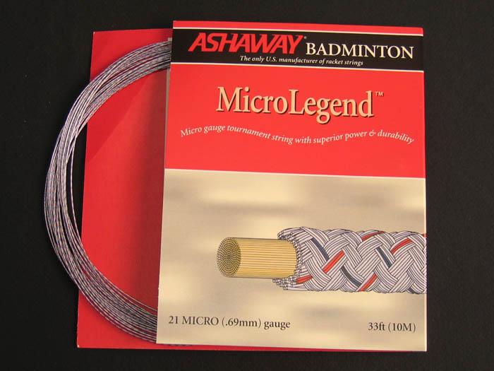 Струна для бадминтона Ashaway Micro Legend